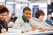 Photos taken of students from the High Tech Academy at Tri-C Metro campus on January 28, 2015.