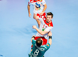 Sander Sagosen of Norway during handball match between National teams of Norway and Norway on Day 3 in Preliminary Round of Men's EHF EURO 2018, on January 14, 2018 in Arena Zatika, Porec, Croatia. Photo by Ziga Zupan / Sportida