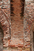 Interior detail of Santo Domingo church. Flat Arch, San Felipe, Panama City, Panama, Central America.