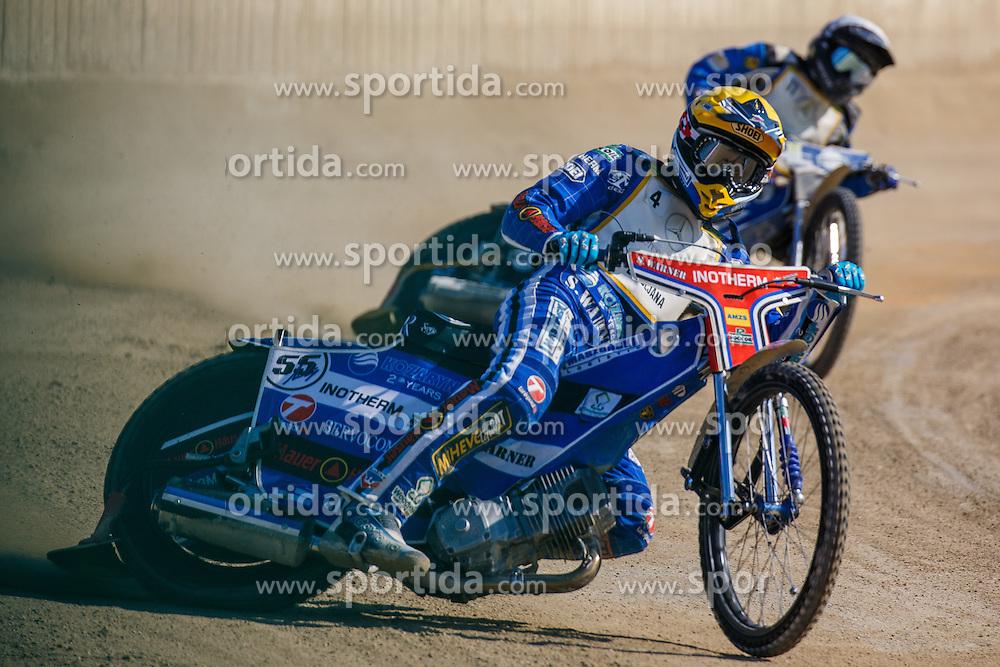 Matej Zagar of Slovenia during national Championship in Speedway, Ljubljana, Stadion Ilirija, on 2nd of July, Slovenia Photo by Grega Valancic / Sportida
