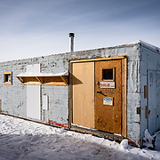 Sugar Shack, Backyard, South Pole Station