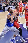 DESCRIZIONE : Campionato 2015/16 Serie A Beko Dinamo Banco di Sardegna Sassari - Grissin Bon Reggio Emilia<br /> GIOCATORE : Brian Sacchetti Achille Polonara<br /> CATEGORIA : Rimbalzo Tagliafuori<br /> SQUADRA : Dinamo Banco di Sardegna Sassari<br /> EVENTO : LegaBasket Serie A Beko 2015/2016<br /> GARA : Dinamo Banco di Sardegna Sassari - Grissin Bon Reggio Emilia<br /> DATA : 23/12/2015<br /> SPORT : Pallacanestro <br /> AUTORE : Agenzia Ciamillo-Castoria/L.Canu