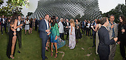 2016 SERPENTINE SUMMER FUNDRAISER PARTY CO-HOSTED BY TOMMY HILFIGER. Serpentine Pavilion, Designed by Bjarke Ingels (BIG), Kensington Gardens. London. 6 July 2016