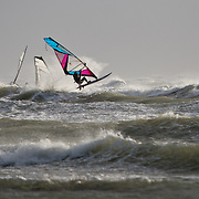 Coup de vent à Gouillaud dans l'île de Ré: Windsurf