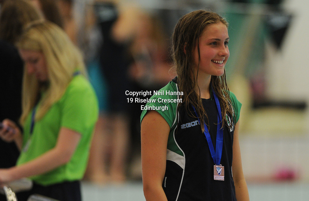 Royal Commonwealth Pool, Edinburgh<br /> Scottish Summer Meet - Sunday 26th July 2015-Day 3 Sunday Finals<br /> <br />  <br /> <br /> Neil Hanna Photography<br /> www.neilhannaphotography.co.uk<br /> 07702 246823