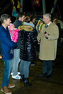 King Philippe and Queen Mathilde visit Zeebrugge