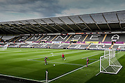 The Liberty Stadium prior to during the Capital One Cup match between Swansea City and York City at the Liberty Stadium, Swansea, Wales on 25 August 2015. Photo by Simon Davies.