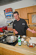 Chef Paul Peterson at Sunday Fair at The Vineyards at The Salt Lick for the 24th Annual Texas Hill Country Wine & Food Festival, Austin Texas, April 19, 2009.