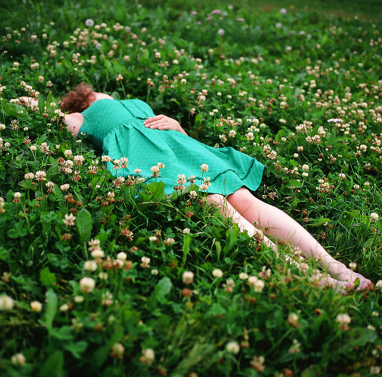 Girl in Clovers