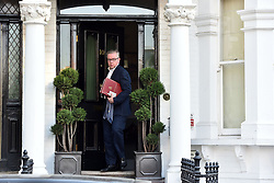 July 6, 2018 - London, London, United Kingdom - Michael Gove leaves for Brexit Cabinet.  Secretary of State for Environment, Food and Rural Affairs Michael Gove leaves home on the day the Prime Minister Theresa May holds a Brexit cabinet meeting at her country residence Chequers. (Credit Image: © Erica Dezonne/i-Images via ZUMA Press)