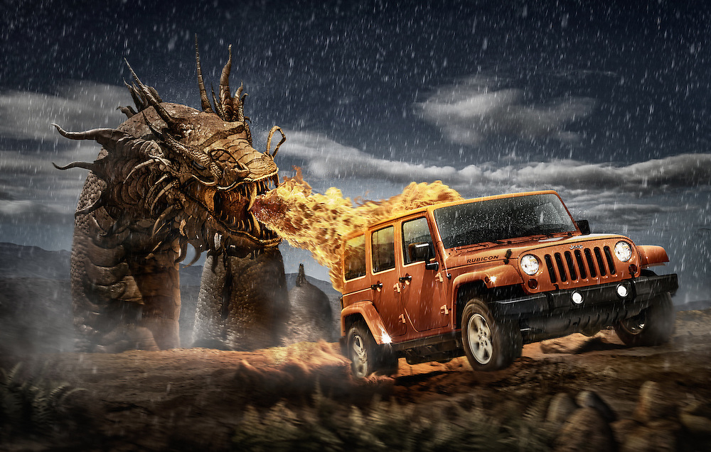 Jeep dragon edition