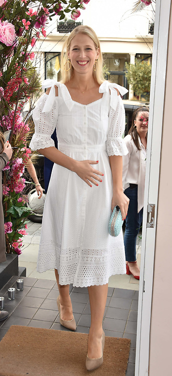Lady Gabriella Windsor at the launch of the Beulah Flagship store, 77 Elizabeth Street, London England. 16 May 2018.