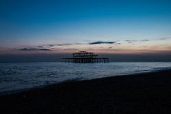 Brighton, UK. Brighton Beach. Photo Credit: Hugo Michiels