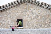 Gijsbert Huijink from Som energy at his house outside Tarragona, Spain.