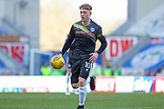 Callum Camps during the EFL Sky Bet League 1 match between Wigan Athletic and Rochdale at the DW Stadium, Wigan, England on 24 February 2018. Picture by Daniel Youngs.