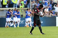 Genova - 24.09.2017 - Sampdoria-Milan - Serie A 6a giornata   - nella foto:  Franck Kessie deluso dopo il gol del 2 a 0