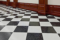 Flooring, Prince Georges County Courthouse