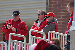 26 April 2015:  Larry Lyons  during an NCAA Division I Baseball game between the Missouri State Bears and the Illinois State Redbirds in Duffy Bass Field, Normal IL