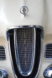 7 August 2010: Edsel. Antique Car show, David Davis Mansion, Bloomington Illinois