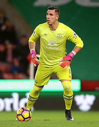 Joel Robles of Everton - Mandatory by-line: Matt McNulty/JMP - 01/02/2017 - FOOTBALL - Bet365 Stadium - Stoke-on-Trent, England - Stoke City v Everton - Premier League