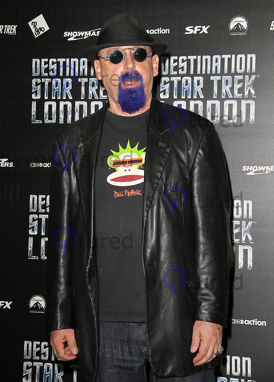LONDON - OCTOBER 19: Ira Steven Behr attended 'Destination Star Trek London' at the ExCel Centre London, UK, October 19, 2012. (Photo by Richard Goldschmidt)