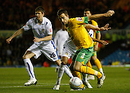 Leeds - Monday October 19th, 2009: Adam Drury of Norwich City in action during the Coca Cola League One match at Elland Road, Leeds. (Pic by Paul Thomas/Focus Images)..