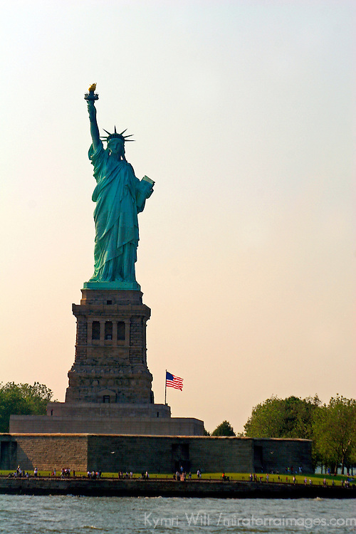 USA, New York, New York City. The Statue of Liberty.