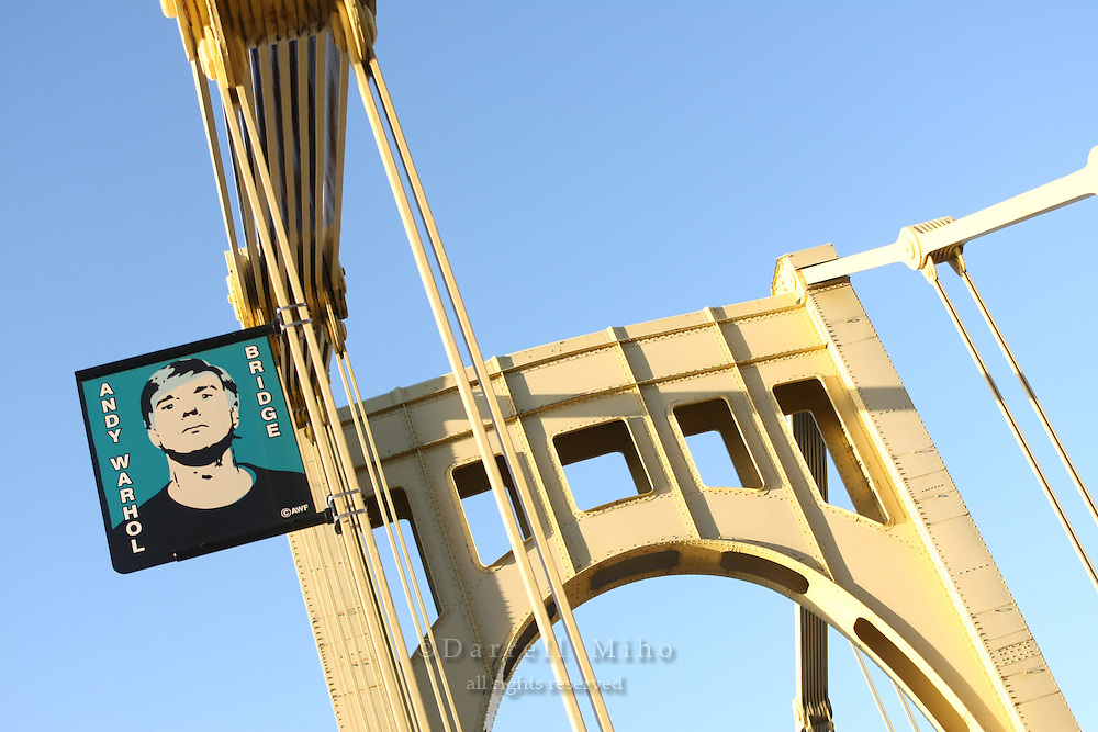 Midwest tour.  Pittsburgh, PA - The Andy Warhol Bridge over the Alleghany River...Photo credit: Darrell Miho