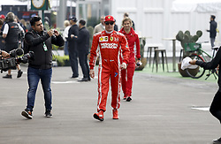 October 27, 2018 - Mexico-City, Mexico - Motorsports: FIA Formula One World Championship 2018, Grand Prix of Mexico, .#7 Kimi Raikkonen (FIN, Scuderia Ferrari) (Credit Image: © Hoch Zwei via ZUMA Wire)