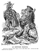 "As Between Friends. British Lion. ""Please don't look at me like that, Sam. YOU're not the eagle I'm up against."""