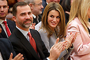 021913 prince felipe and princess letizia culture medals