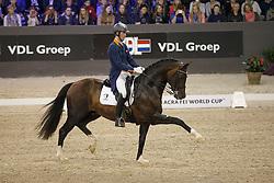 Van Silfhout Diederick, (NED), Arlando <br /> Indoor Brabant - 's Hertogenbosch 2016<br /> © Hippo Foto - Dirk Caremans<br /> 12/03/16