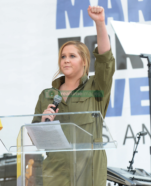 MARCH FOR OUR LIVES, protesting gun violence in schools - Los Angeles. 24 Mar 2018 Pictured: Amy Schumer. Photo credit: MEGA TheMegaAgency.com +1 888 505 6342