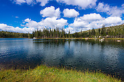 Elizabeth Lake, Tuolumne Meadows, Yosemite National Park, California USA