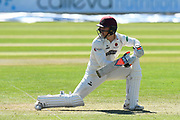 Tom Abell of Somerset batting during the Specsavers County Champ Div 1 match between Somerset County Cricket Club and Hampshire County Cricket Club at the Cooper Associates County Ground, Taunton, United Kingdom on 26 May 2017. Photo by Graham Hunt.