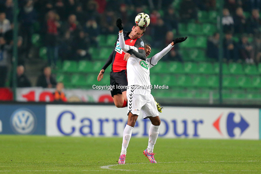 Sylvain ARMAND / David NGOG - 22.01.2015 - Rennes / Reims - 1/16Finale Coupe de France-<br />