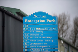 © Licensed to London News Pictures. 09/03/2018. Salisbury, UK. Norton Enterprise Park, the location of  Ashley Wood Recovery, in the city of Sailsbury, where a vehicle was searched by officers in Hazmat suits yesterday evening. where Former Russian spy Sergei Skripal and his daughter Yulia were found after being poisoned with nerve agent.  where found unconscious on bench in Salisbury shopping centre. A policeman who went to their aid is currently  recovering in hospital. Photo credit: Ben Cawthra/LNP