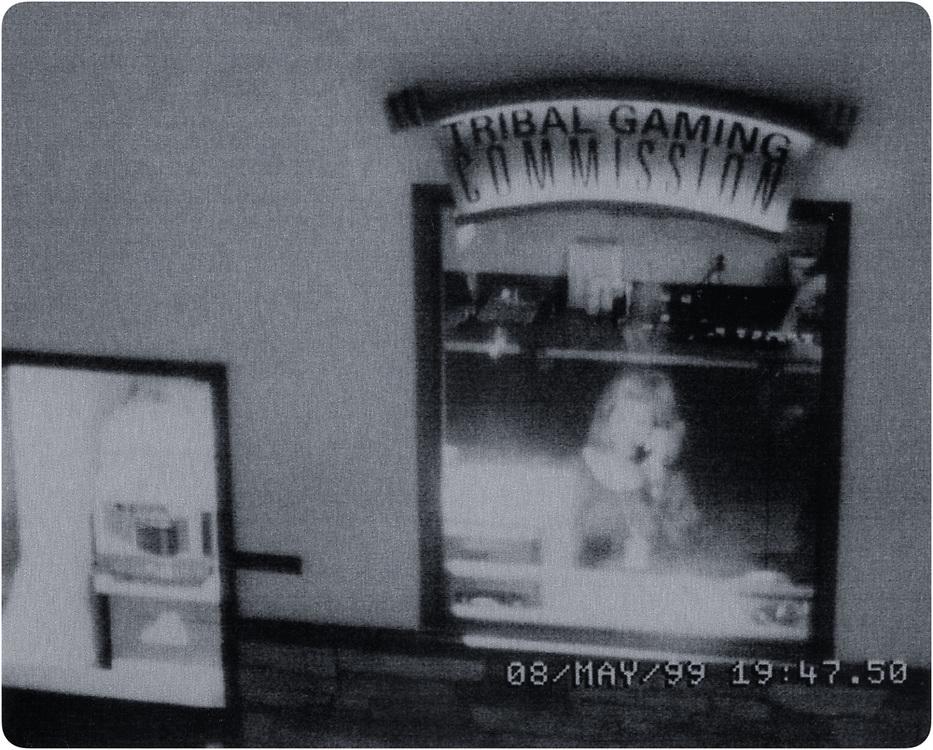 Inspector Grabelle (surveillance self-portrait) 1999