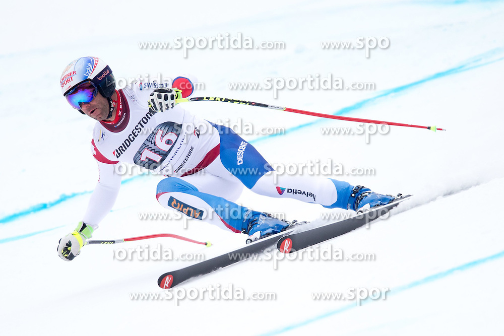 27.02.2015, Kandahar, Garmisch Partenkirchen, GER, FIS Weltcup Ski Alpin, Abfahrt, Herren, 2. Training, im Bild Didier Defago (SUI) // Didier Defago of Switzerland in action during the 2nd trainings run for the men's Downhill of the FIS Ski Alpine World Cup at the Kandahar course, Garmisch Partenkirchen, Germany on 2015/27/02. EXPA Pictures © 2015, PhotoCredit: EXPA/ Johann Groder