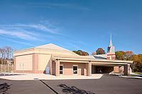 Exterior Image of Queens Chapel UMC in Beltsville Maryland by Jeffrey Sauers of Commerial Photographics
