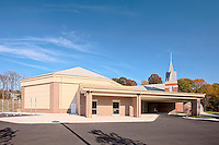 Exterior Image of Queens Chapel UMC in Beltsville Maryland by Jeffrey Sauers of Commerial Photographics