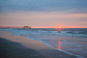Sunrise at Myrtle Beach State Park Pier