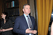 MICHAEL GOVE, Celebration of the  200TH Anniversary of the  Birth of Rt.Hon. John Bright MP  and the publication of <br /> ÔJohn Bright: Statesman, Orator, AgitatorÕ by Bill Cash MP. Reform Club. London. 14 November 2011. <br /> <br />  , -DO NOT ARCHIVE-© Copyright Photograph by Dafydd Jones. 248 Clapham Rd. London SW9 0PZ. Tel 0207 820 0771. www.dafjones.com.<br /> MICHAEL GOVE, Celebration of the  200TH Anniversary of the  Birth of Rt.Hon. John Bright MP  and the publication of <br /> 'John Bright: Statesman, Orator, Agitator' by Bill Cash MP. Reform Club. London. 14 November 2011. <br /> <br />  , -DO NOT ARCHIVE-© Copyright Photograph by Dafydd Jones. 248 Clapham Rd. London SW9 0PZ. Tel 0207 820 0771. www.dafjones.com.