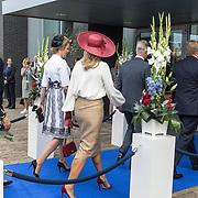 NLD/Terneuzen/20190831 - Start viering 75 jaar vrijheid, Koningin Maxima en Koningin Mathilde en Koning Willem Alexander en Koning Filip van Belgie
