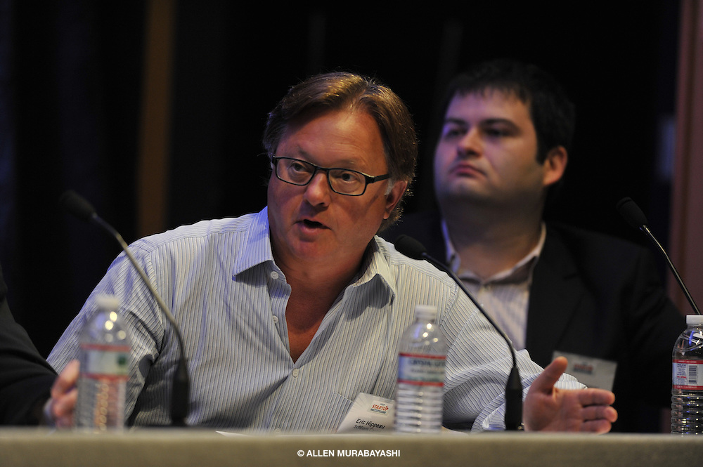 Eric Hippeau, managing partner, SoftBank Capital at the Silicon Alley Insider Startup 2009 conference. New York, NY June 3, 2009.