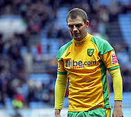 Coventry - Saturday, March 8th, 2008:  Jamie Cureton of Norwich City looks dejected as he walks of the pitch after his side lost 1-0 during the Coca Cola Championship match at the Ricoh Arena, Coventry. (Pic by Paul Hollands/Focus Images)