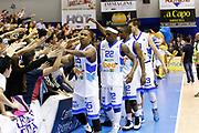DESCRIZIONE : Capo dOrlando Lega A 2014-15 Orlandina Basket Olimpia Emporio Armani EA7 Milano<br /> GIOCATORE : Team Orlandina McGee Henry<br /> CATEGORIA : Esultanza Team<br /> SQUADRA : Orlandina Basket EA7 Emporio Armani Olimpia Milano<br /> EVENTO : Campionato Lega A 2014-2015 <br /> GARA : Orlandina Basket EA7 Emporio Armani Olimpia Milano<br /> DATA : 19/04/2015<br /> SPORT : Pallacanestro <br /> AUTORE : Agenzia Ciamillo-Castoria/G.Pappalardo<br /> Galleria : Lega Basket A 2014-2015<br /> Fotonotizia : Capo dOrlando Lega A 2014-15 Orlandina Basket EA7 Emporio Armani Olimpia Milano