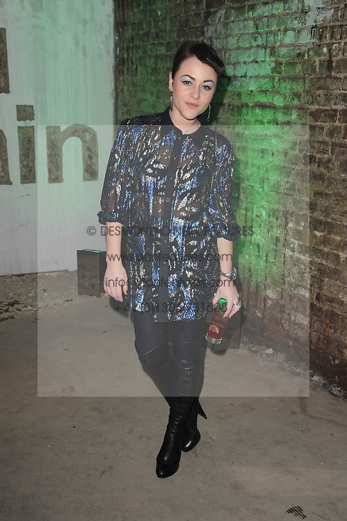 JAIME WINSTONE at the launch of 2 collections by jeweller Stephen Webster - ÔThe 7 Deadly SinsÕ and ÔNo RegretsÕ held at The Old Vics Tunnels, Under Waterloo Station, Off Leake Street, London SE1 on 8th December 2010.<br /> JAIME WINSTONE at the launch of 2 collections by jeweller Stephen Webster - 'The 7 Deadly Sins' and 'No Regrets' held at The Old Vics Tunnels, Under Waterloo Station, Off Leake Street, London SE1 on 8th December 2010.