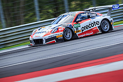 10.06.2017, Red Bull Ring, Spielberg, AUT, ADAC GT Masters, Spielberg, 1. Rennen, im Bild Robert Renauer (GER)/Sven Mueller (GER) Precote Herberth Motorsport // German ADAC GT MAsters driver Robert Renauer/German ADAC GT Masters driver Sven Mueller of Precote Herberth Motorsport during the 1st race of the ADAC GT Masters at the Red Bull Ring in Spielberg, Austria on 2017/06/10. EXPA Pictures © 2017, PhotoCredit: EXPA/ Dominik Angerer
