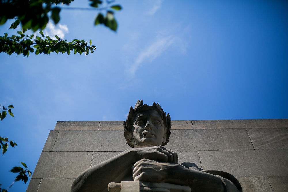 BROOKLYN, NY - JUNE 1, 2016: General views of the Brooklyn War Memorial in Brooklyn, New York. CREDIT: Sam Hodgson for The New York Times.